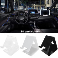 Wholesale tablet 4mm for sale - Group buy Universal x6 x10 cm Car Phone Holder Simple Practical Mobile Phone Holder Tablet Bracket MM Thickness Display Stand
