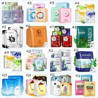 Wholesale kinds masks for sale - Group buy BIOAQUA images Face Mask kinds S Replenishment Sheet Mask Black Dots Tony Moly Acne Treatment Korean Skin Care Hyaluronic Acid Face Mask