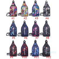 Wholesale waist bags colors for sale - Group buy Women Men Fany Pack Champion Branded Crossbody Bag Belt Waist Pack Unisex Chest Bag Zipper Fashion One Shoulder Bags Colors C102102