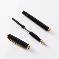 Wholesale custom office pens resale online - Metal pen Signature baozhu business creative gifts office pen advertising pen custom