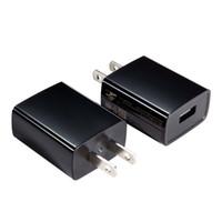 cep telefonları için güç kaynağı toptan satış-UL Sertifikalı USB Duvar Şarj Güç Kaynağı 5 v 1A (1000mA) Evrensel Taşınabilir Seyahat Güç Adaptörü ABD Plug Blok Cep Telefonu için