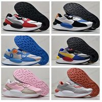 Wholesale best online fabrics for sale - Group buy Top RS Space Lifestyle Running Shoes Women beautiful Training Sneakers walking gym jogging shoes best girl ladies online shopping