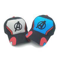 gorras de los vengadores al por mayor-2019 Movie Avengers: Finales Thanos Cosplay Sombreros Avengers: Infinity War - Parte II Gorra de béisbol unisex con tecnología avanzada