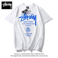 braune katzenhemden groihandel-Herren Designer T Shirt Sommer Marke Atmungsaktiv Lose T Shirts Für Männer Und Frauen Paar Designer Hip Hop Streetwear Tops Luxus Tees