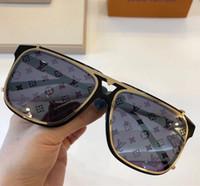 güneş gözlüğü optiği toptan satış-Yeni moda tasarımcısı güneş 1085 büyük kare çift ayrılabilir lens optik ve güneş gözlüğü serisi tarzı ile kılıf