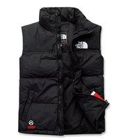 gilet d'hiver de style homme achat en gros de-2018 New nord hiver hommes puffer veste Casual Marque Hoodies Down Parkas Warm Ski Mens gilet gilet 60