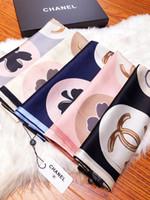 Wholesale chiffon scarves resale online - 180x65CM Satin Chiffon Silk Mens scarf Men Scarves Winter Women Shawl Womens Ring Poncho SCAFA19