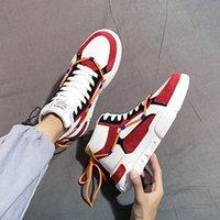 ingrosso stili di scarpe della corea-Scarpe di tela autunno inverno maschio ricreativo Corea marea dell'edizione web celebrità è lo stesso stile del pattino bordo del pattino di marea