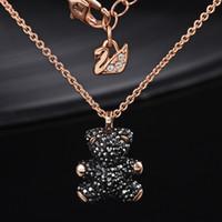 ingrosso americano migliore-Marchi europei e americani 100% 925 sterling silver intarsiato collana pendente ciondolo in cristallo naturale è il miglior regalo per gli amanti