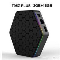 Wholesale original tv box for sale - Group buy 20pcs Original T95Z Plus GB GB Amlogic S912 Android TV Box Octa core G G WIFI BT4 K