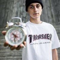 saat kolu toptan satış-Lüks Tasarımcı T Gömlek Erkekler Kadınlar Yaz Katı Renk Kısa Kollu Üst Tee Çalar Saat Baskı Rahat Gömlek M-XXL