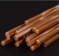 ingrosso bar da pranzo in bambù-Bacchette di bambù cinesi da 24 cm da cucina Dining bar da tavola Bamboo eco friendly ChopSticks