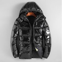 Wholesale yellow duck clothing resale online - Men s Winter down jacket Hoodies Duck Down Jacket Thicken Warm Classic star with the same clothing Down Parkas