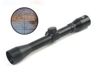 retículo del francotirador del alcance del rifle al por mayor-Rifle Scope compacto 4x32 Hunting Scopes Crosshair Reticle Sight Sniper Riflescope