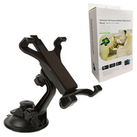 Wholesale tab pc resale online - 360 Degree Rotation Suction Cup Car Mount Lazy Tablet Holder for iPad Samsung Galaxy Tab inch Tablet PC