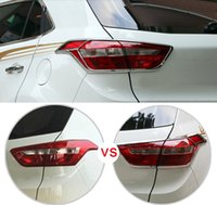 Wholesale hyundai lighting for sale - Group buy Car Styling ABS Chromed Rear Tail Light Lamp Cover Trim For Hyundai Creta ix25 Cantus
