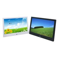 Wholesale green mp3 mp4 player resale online - Digital Picture Frame inch Electronic Digital Photo Frame IPS Display with IPS LCD P MP3 MP4 Video Player