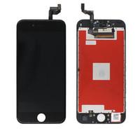 gehärtetes digitalisierglas großhandel-Hochwertiger Bildschirm für das iPhone 5 5S 5C SE 5SE LCD-Display und Ersatz-Touchscreen für Digitizer Weiß Schwarz Gehärtetes Glas