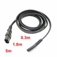fuente de alimentación del teléfono portátil al por mayor-con cable conector de auriculares del teléfono IEC 60320 C8 Enchufe a C7 receptáculo macho a hembra cable de extensión de alimentación de 30 cm de alimentación del adaptador del cable principal