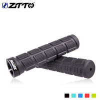 Wholesale cycle handlebars resale online - ZTTO AG38 Handlebar Grips MTB Mountain Bike Cycle Bicycle Lock handle Grips Durable BMX Rubber Grip Anti Slip Parts Pair