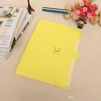 dokument organisator brieftasche großhandel-Kunststoff-Erweiterung Office Document Organizer Inhaber A4 Aktentasche mit Gummiband für Schüler verwenden