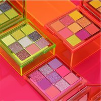 lowest price hot selling Brand makeup Eyes Beauty Neon Palette 9 Colors Eyeshadow!3 Different Colors