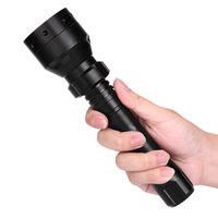 Wholesale led long range lamps for sale - Group buy Bicycle Light LED cycling Front Light Long Range Infrared W Bike Lamp Torch Waterproof Night