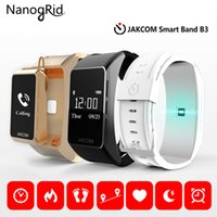 Wholesale bluetooth bracelet display for sale – best Smart Band B3 Bluetooth watch headphone wireless calling Heart Rate Monitor Smart Bracelet Fitness podometer Wristband
