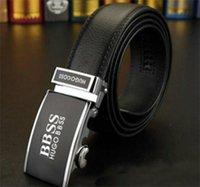 ceintures en cuir européennes achat en gros de-Fashion Stripe Pattern bSs Boucle Hommes Designer Ceintures Ceinture Style Européen Marque ceinture de haute qualité en cuir véritable Boucle automatique