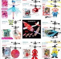 kinder spielzeug für verkauf porzellan großhandel-China Hot Verkauf Induction Fahrzeug Levitate Kinderspielzeug USB-Ladegerät Aerocraft-Jungen-elektrische Spielwaren-Kind-Karikatur Ein Sensor Flugzeug A09161