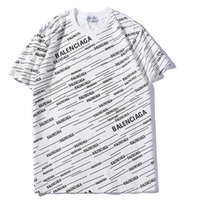 männer heißen weißen brief großhandel-2019 Heißer verkauf Unisex Männer weißes T-shirt Marke bb ganzen körper Brief Gedruckt T-shirt Kurzarm frauen Hip Hop Tops T-shirt S-2XL