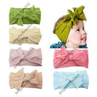 bebek elbiseleri saç bantları toptan satış-Bandanalar bebek çocuk kız dantel çiçek kafa giyinmek kafa moda Saç Bandı Bebek Kız Saç Bandı Için Makyaj Için F1