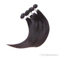 grau de cabelo remy 6a venda por atacado-ELIBESS HAIR - Grau 6A de Alta qualidade Cabelo 50g por pacote de 4 pacotes de Estilo Popular, 100% por cento remy onda reta cabelo humano, livre DHL