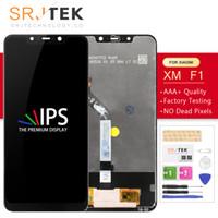 xiaomi glas digitizer großhandel-Srjtek Für Xiaomi Pocophone F1 LCD-Glasmatrix-Touchscreen-Digitizer-Komplettbaugruppe mit Rahmen 6,18 '' für Pocophone F1-Anzeige