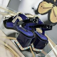 sapatos de borracha de borracha grossa para mulheres venda por atacado-NEW MATCHMAKE SANDAL 1A4W6H Sandálias das Mulheres Designer de Sandálias Casuais mers Sapatos de Salto Grosso Solas de borracha Por Atacado