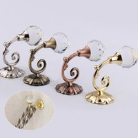 Wholesale hung windows for sale - Group buy 1 Pair Tieback Curtain Hanging Hook Holder Hanger Accessories Window Home Decoration