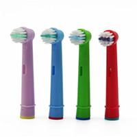 ağız bakım kitleri toptan satış-Yeni Moda Çocuk Dayanıklı Elektronik Diş Fırçası Baş Diş Fırçası Yedek Kafaları Takımı Moda Yeni Ağız Bakımı