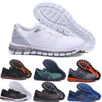 Compre ASICS 2019 Gel Quantum 3Gel Quantum 360 II Zapatos Para Hombre Zapatillas De Deporte Azul Rojo Negro Blanco Alta Calidad Entrenamiento Barato