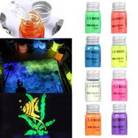 ingrosso penna stilografica finanziaria-7ml Glow in Dark Graffiti fai da te non carbonio inchiostro luminoso fluorescente inchiostro vernice brillante pigmento Shiny multifunzione Tatuaggio