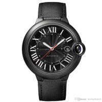 ingrosso orologi da polso completi-HOT quantità limitata Mens Watch W69012Z4 serie completa faccia nera calendario orologio da uomo movimento automatico orologio da polso spedizione gratuita.