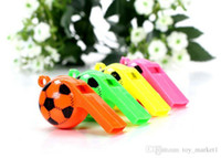 Wholesale game develop resale online - Children s game whistle World Cup football Cheerleading fans cheering toy supplies Kids basketball baseball football and game toys