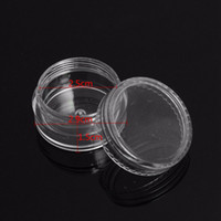 5ml Plastic Jar Empty Eyeshadow Case Powder Cosmetic Jars for Container Eye Shadow 5g Cosmetic Case Empty Jar Pot