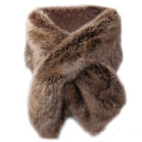 Wholesale white fur trim for coats for sale - Group buy Sleeveless Fur Vest Women Ponchos And Capes Bridal Shawl Flurry Wrap Black White Red Grey Faux Fur Coat for Ladies