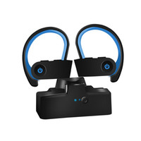 Wholesale cell phone cases for android for sale – best TWS Bluetooth Earphone Ear Hook Stereo Wireless Sports Headphone with Charging Case Hifi Headset Handsfree for iPhone Android Phone
