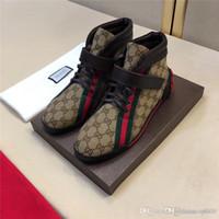 ingrosso scarpe da ginnastica designer-hococal vendita calda Uomini Wome di lusso di marca inferiori rosse Mens Sneakers Designers G Low pattini piani casuali all'aperto Zapatillas Driving Man