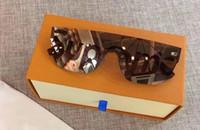 siyah moda maskesi toptan satış-Toptan-Moda Serin Güneş Erkekler Black City Maskesi SP Güneş Marka Tasarımcısı Sunglass Gözlük Yeni Stil Hipster Güneş Gözlükleri