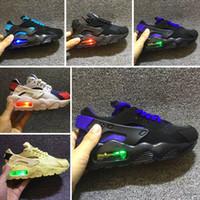 ingrosso scarpe da ginnastica per bambini-New Kids Air Huarache Sneakers Scarpe Per Ragazzi Grils Bambini Scarpe da ginnastica Hurache Youth Kids Huaraches Sport Scarpe da corsa Taglia 28-35