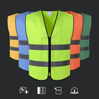 Wholesale motorcycle safety vest reflective for sale - Group buy High Visibility Reflective Vest Workplace Road Working Clothes Motorcycle Cycling Sports Outdoor Reflective Safety Clothing