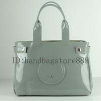 большие наплечные сумки оптовых-2019 модные женские классические сумки из лакированной кожи дизайнерские сумки с ярким лицом лакированная кожа сумка большая емкость сумки