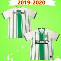 mens thai futbol formaları toptan satış-Tay kalite 19 20 Atletico Medellin Futbol Forma Nacional 2019 2020 Ulusal Yarışma H.BARCOS Ev Futbol formaları gömlek mens
